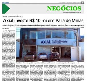 Axial exames bh